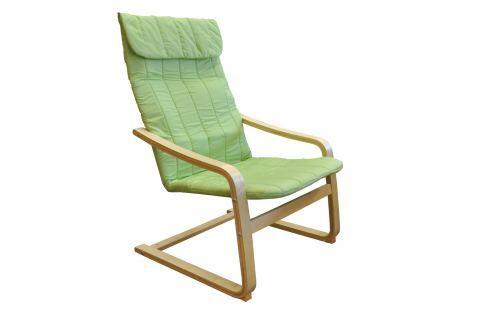 Křeslo LISA zelené K78 Křesla