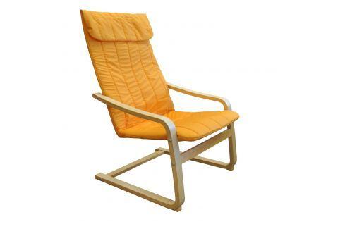 Křeslo LISA oranžové K79 Křesla