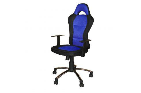 Kancelářské křeslo CESAR modré K80 Kancelářské židle