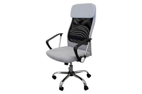 Kancelářské křeslo BOSS šedé Pracovna - Kancelářské židle