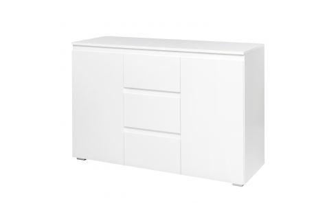 Komoda 2 dveře + 3 zásuvky IMAGE 4 bílá Úložné prostory - Komody