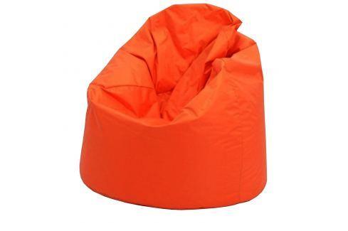 Sedací vak JUMBO oranžový V10 Pohovky - Sedací vaky