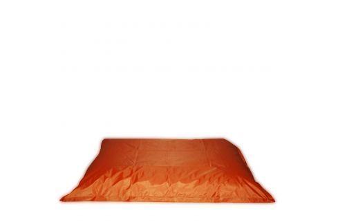 Sedací polštář oranžový V28 Pohovky - Sedací vaky