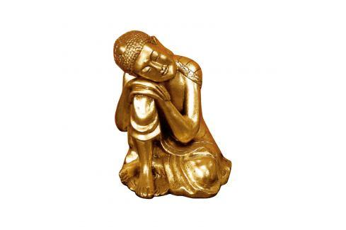 Buddha zlatý Ložnice - Bytové doplňky