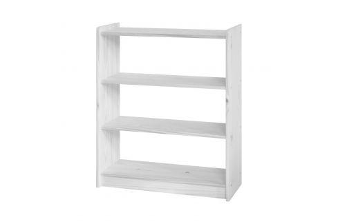 Knihovna 8010 bílý lak Pracovna - Knihovny