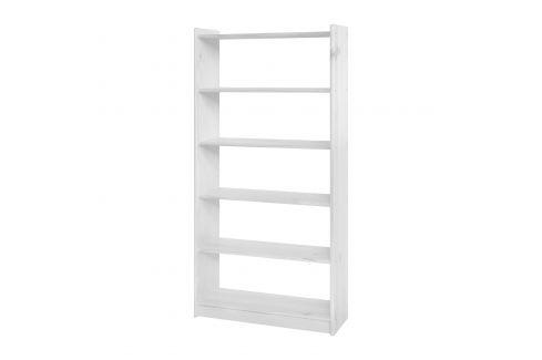 Knihovna 8011 bílý lak Pracovna - Knihovny