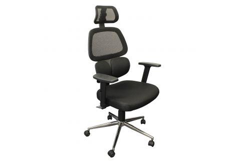 Kancelářské křeslo TIKITERE černé Pracovna - Kancelářské židle