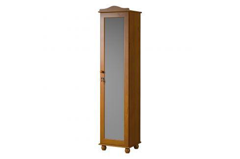 Botník GRAND PRIX hnědý Úložné prostory - Nábytek do chodby