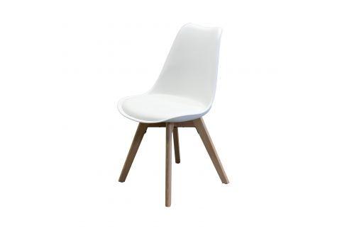 Jídelní židle QUATRO bílá Pokoj a jídelna - Jídelní židle