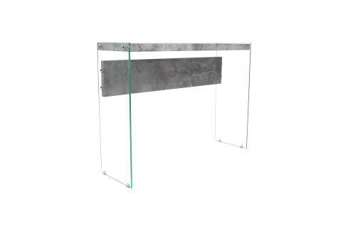 Odkládací stolek sklo/MDF Pokoj a jídelna - Stoly a stolky - Konferenční stolky