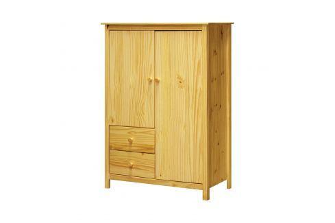 Prádelník 2 dveře + 2 zásuvky TORINO Úložné prostory - Komody
