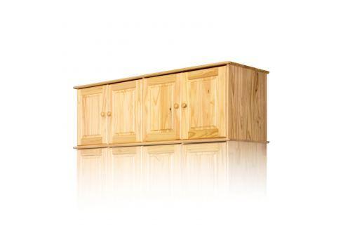 Nástavec 4dveřový 8853 lak Úložné prostory - Skříně