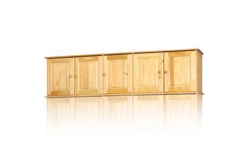 Nástavec 5dveřový 8855 lak Úložné prostory - Skříně