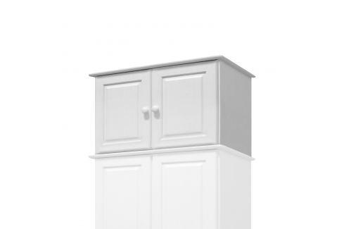 Nástavec 2dveřový 8861B bílý lak Úložné prostory - Skříně