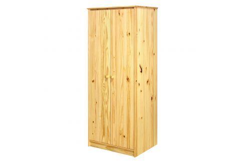 Skříň 2dveřová 8875 lak Úložné prostory - Skříně