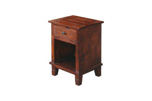 Noční stolek HAVANA lak Pokoj a jídelna - Stoly a stolky - Noční stolky