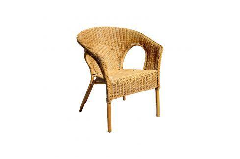 Křeslo MANILA ratan Pokoj a jídelna - Jídelní židle
