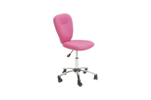 Kancelářská židle MALI růžová Pracovna - Kancelářské židle