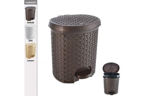 Koš odpadkový s pedálem RATAN 5,5 L ODPADKOVÉ KOŠE