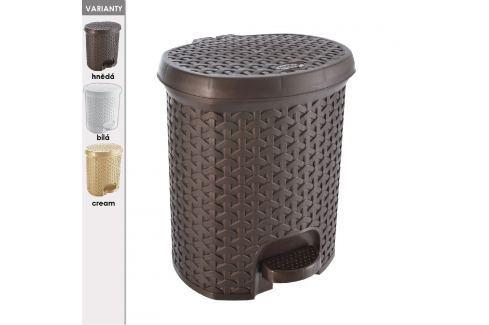 Koš odpadkový s pedálem RATAN 11,5 L ODPADKOVÉ KOŠE
