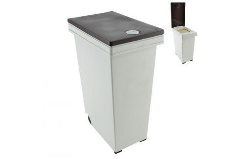 Koš odpadkový s tlačítkem DUST 45 L ODPADKOVÉ KOŠE