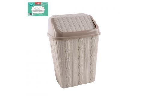 Koš odpadkový plastový s kolíbkou JUMPER 10 L ODPADKOVÉ KOŠE