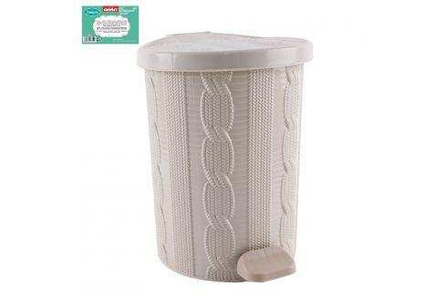 Koš odpadkový plastový s pedálem JUMPER 20 L ODPADKOVÉ KOŠE