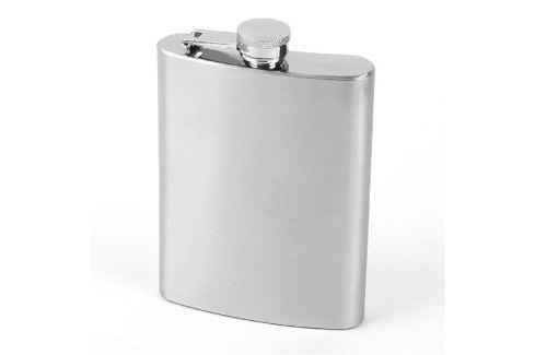 Kapesní ocelová nerezová lahev láhev 240 ml Placatky