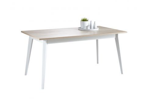 NATARE, jídelní stůl, dub sonoma/bílá Jídelní stoly
