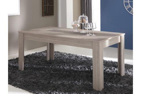 DACHESS, jídelní stůl, dub shannon/beton Jídelní stoly