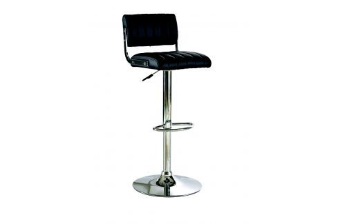 JUKBOX, barová židle, černá Židle
