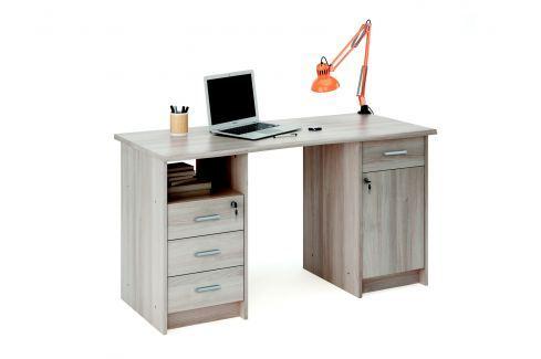 MONAKO, psací stůl, dub shannon Psací stoly