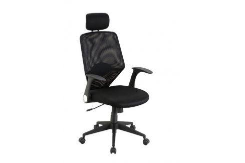 GALEON, kancelářské křeslo, černá Kancelářská křesla