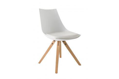 MELANO, židle, bílá Židle