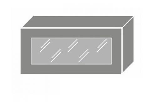 TITANIUM, skříňka horní W4bs 80 WKF, korpus: jersey, barva: fino černé Kuchyňské horní skříňky